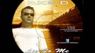 Mike-D feat. Nensi - Lie To Me (Radio edit) (2011) LOW QUALITY