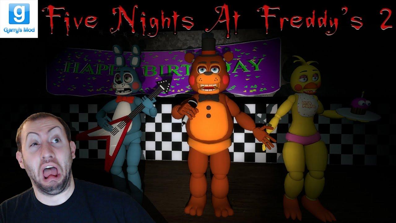 gmod 5 nights at freddys 2 game