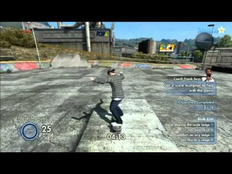 Skate 3 - Sick List