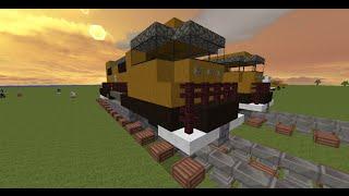 как построить поезд в minecraft(, 2014-08-29T07:46:39.000Z)