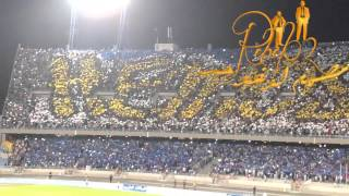 Ultra Hercules I.R.T 05/09/2015 Grand stade de Tanger (Tifo )