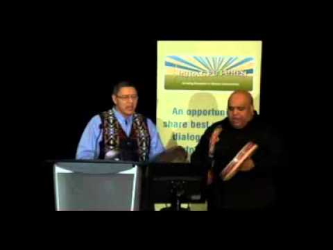 Cultural Blessing - Stoney Education Authority, Cultural Programmer Duane Mark