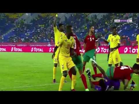 أهداف مباراة المغرب 3 - 1  طوغو من كأس أمم إفريقيا 2017 بالغابون