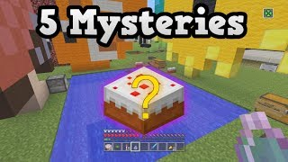 5 MYSTERIES of Minecraft PS4 / Wii-U