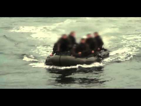 British Special Forces Embarking Submarine
