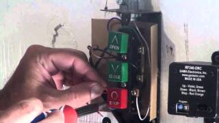 GAMA Electronics, Inc. RF340-DRC Overhead Door Remote Control System
