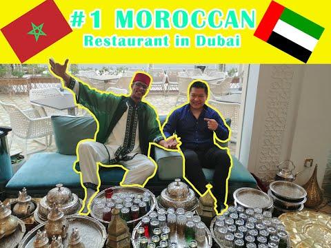 BEST MOROCCAN Restaurant (Bab Al Mansour) In DUBAI!