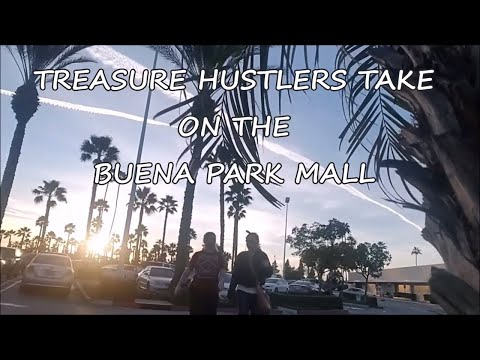 RIDE ALONG TO THE DUMPSTERS AND WALK THROUGH BUENA PARK MALL (struck out 4 times)
