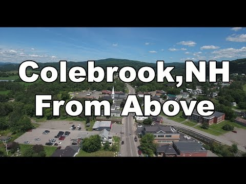 Colebrook NH From Above