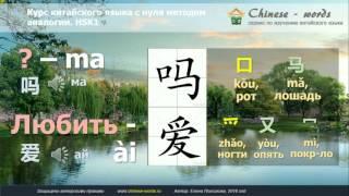 Урок китайского языка 2. (начальный уровень 入门上)  Простое вопросительное.