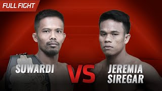 🔥 [HD] Suwardi Vs Jeremia Siregar || One Pride FN #31