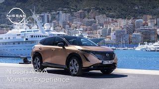 The Nissan ARIYA - A stunning debut drive on the streets of Monaco