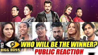 Final Public Reaction | Who Will Be The WINNER Of Bigg Boss 11 | Shilpa, Hina, Vikas, Puneesh