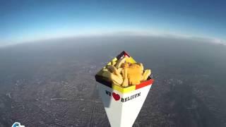 2H de frites dans l'espace ! #SpaceFrites