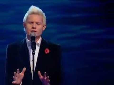 X Factor 4, ep 14, Rhydian (itv.com/xfactor)