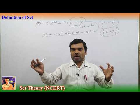 Set Theory In Hindi (Lecture 1)