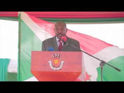 Burundi's president Pierre Nkurunziza promises to step down in 2020