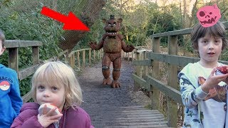 real fnaf freddy vs kids