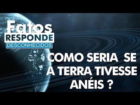 Veja o video – Como seria se a Terra tivesse anéis – Fatos Responde #05