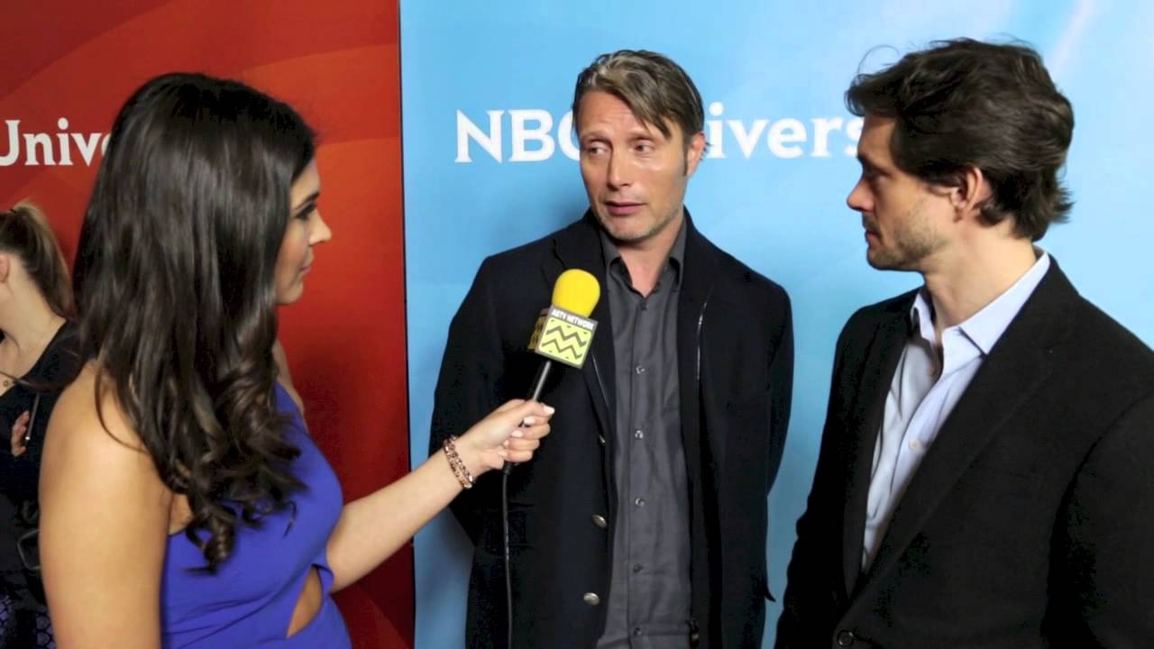 Hugh Dancy and Mads Mikkelsen from Hannibal @ NBC Red ...