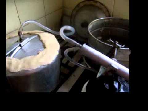 Hacer maiz como de licor casero