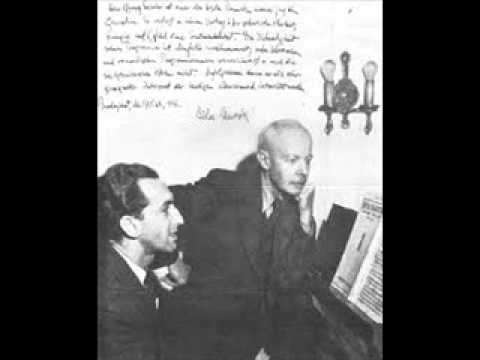 "Gyorgy Sandor plays Bartok ""For Children"" Book 2"