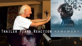Rememory   Peter Dinklage, Trailer Piano Reaction, instrumental, official HD 2017, Elastic PIano