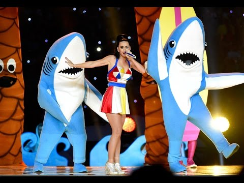 perry making More than 100 hours of material for filmed leading up to katy perry's 12 1/2-minute halftime performance at the super bowl.