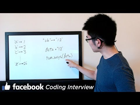 Facebook Coding Interview Question - How Many Ways to Decode This Message?