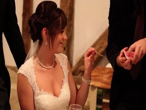 Wedding Entertainment Ideas UK - Close up Magician Roger Lapin