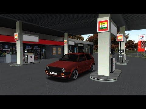 Vollgas? VOLLGAS! - VW Golf 2 - Autobahnmap - OMSI 2 #560