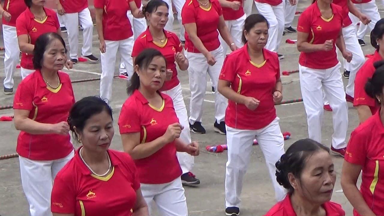 Thể dục dưỡng sinh phường Vân Phú-Việt Trì-Phú Thọ