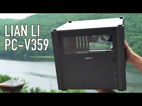Lian Li PC-V359 MicroATX Case Overview