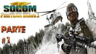 SOCOM Fireteam Bravo 3 - PSP - Gameplay - Parte / Walktrough # 1 - Comenzando/ Review