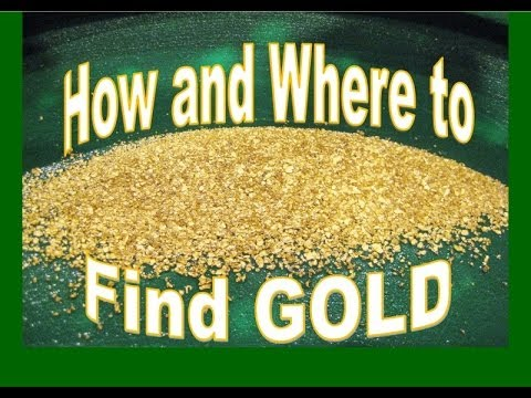 How and Where to find Gold  - Prospecting in the River by Wa
