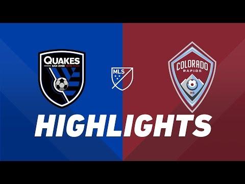 San Jose Earthquakes vs. Colorado Rapids | HIGHLIGHTS – July 27, 2019