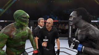 Swamp Thing vs. Xenomorph (EA Sports UFC 3) - CPU vs. CPU