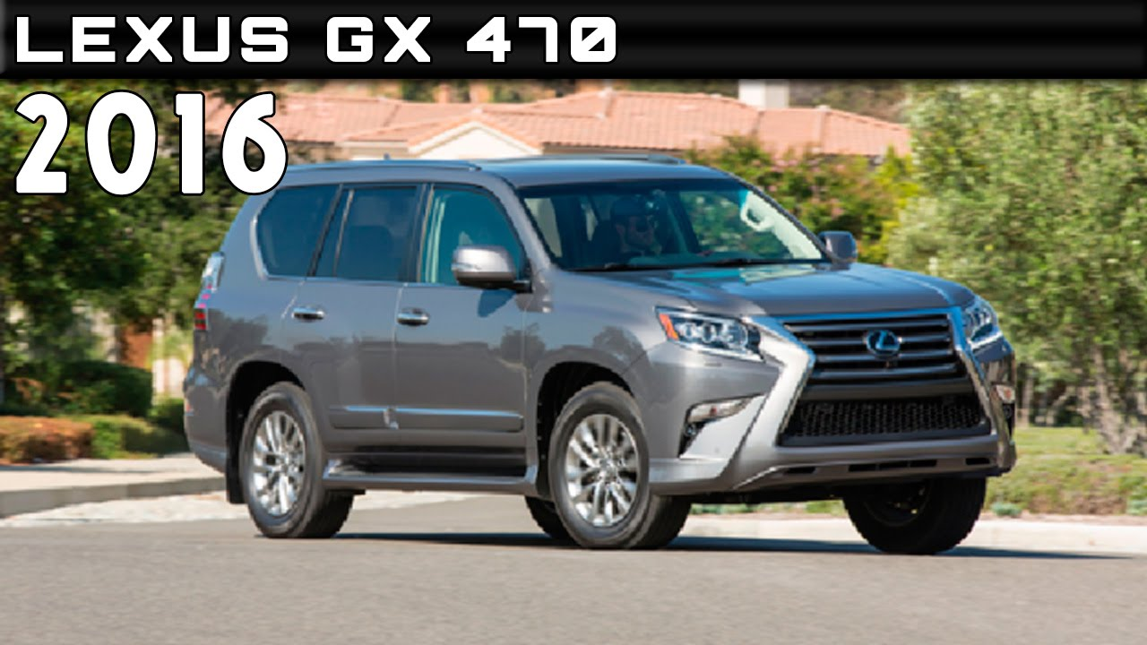 Lovely 2016 Lexus GX 470 Review Rendered Price Specs Release Date