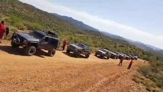Aventureros 4x4 Club at Crown King Az