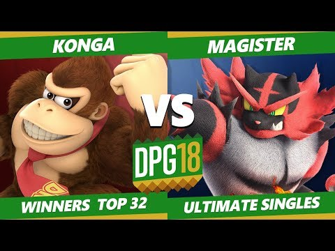 Smash Ultimate Tournament - KOL   Konga (DK) Vs. Magister (Villager, Incineroar) DPOTG18 SSBU WR2