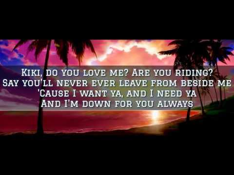 DRAKE - KEKE DO YOU LOVE ME (Lyrics)