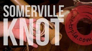 SHIBARI TUTOTIAL: WykD method of tying the Somerville Bowline