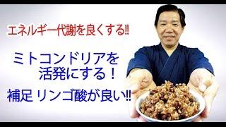 ミトコンドリアにはリンゴ酸が良い 発芽玄米酵素ごはん