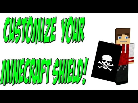 how to make a shield in minecraft xbox one