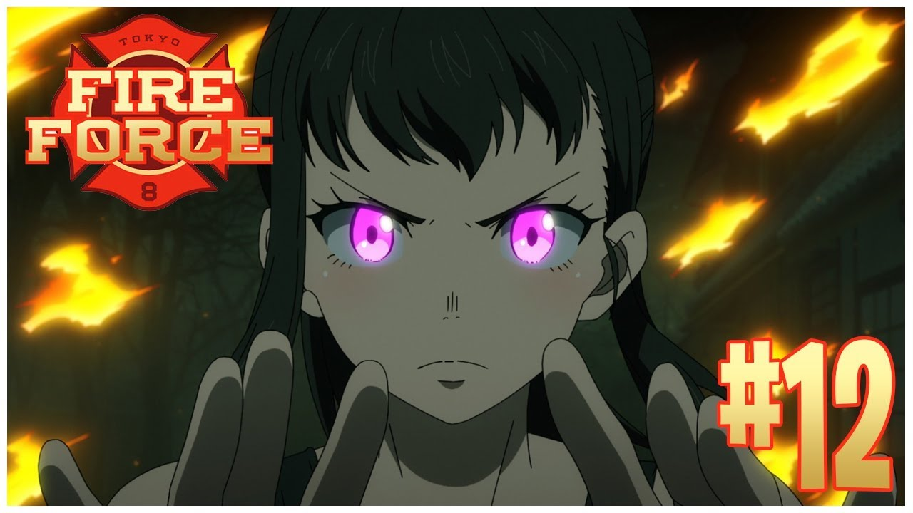 Image result for fire force ep 12