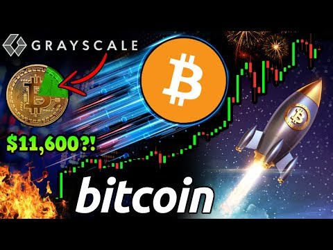 INSANE Bitcoin FOMO! Grayscale Buys 21% of $BTC! Investors Pay $11,600 Per Coin! 😱