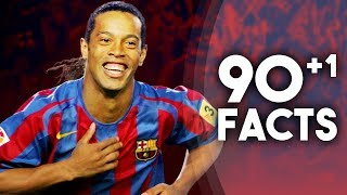 90+1 Facts About Ronaldinho!