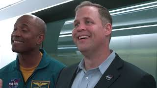 NASA Chief Talks with Elon Musk About Crew Dragon