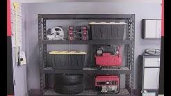 Costco Whalen Industrial Rack unboxing