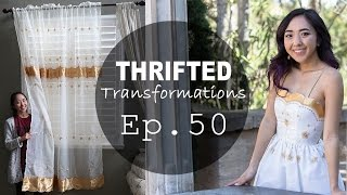 From Curtain to Dress! | Thrifted Transformations Ep. 50